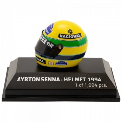 Mini casque 1/8 Ayrton Senna 1994