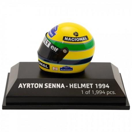 Ayrton Senna helmet scale 1/8