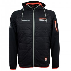 Ayrton Senna Hooded Lightweight Jacket