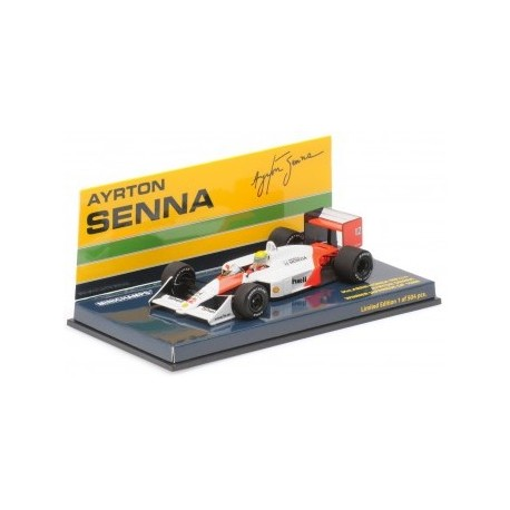 Ayrton Senna McLaren Honda MP4/4 Winner Japan GP 1988