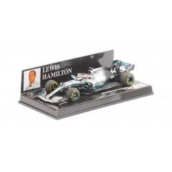 Mercedes W11 Lewis Hamilton 2019