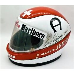 1975 Clay Regazzoni / Ferrari Jeb's Replica helmet