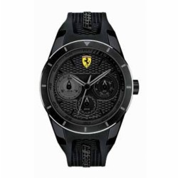 Ferrari watch REDREV T black