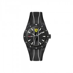 Ferrari watch REDREV QUARTZ black/white