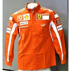 2006 Michael Schumacher personnal Ferrari Team shirt