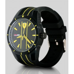 Ferrari watch REDREV QUARTZ black/yellow