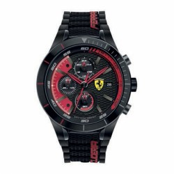 Ferrari watch REDREV EVO black/red