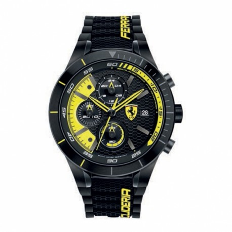 Ferrari watch REDREV EVO black/yellow