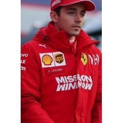 2019 Charles Leclerc / Ferrari personal Team Jacket