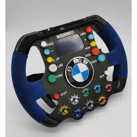 Williams FW26 steering-wheel