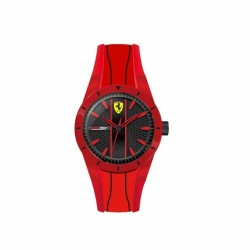 Ferrari watch REDREV QUARTZ red/black