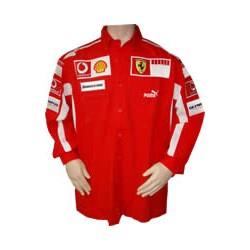 2005 FERRARI Team-Shirt with long sleeves