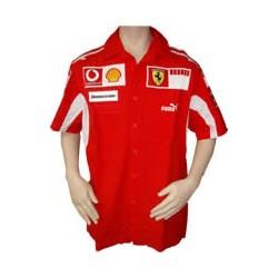 2005 FERRARI Team-Shirt with short sleeves