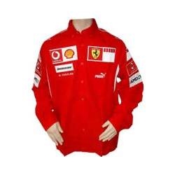 2006 FERRARI Team-Shirt with long sleeves