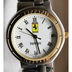 Montre dames Ferrari / CARTIER avec cadran blanc