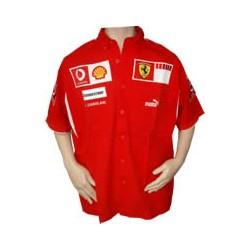 2006 FERRARI Team-Shirt with short sleeves