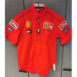 Chemise personnelle Ferrari de Nigel STEPNEY