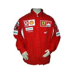 2006 FERRARI Team-Shirt with MARLBORO branding, long sleeves