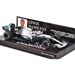 Mercedes AMG W10 Lewis Hamilton World Champion USA GP 2019