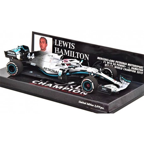 Mercedes AMG W10 Lewis Hamilton World Champion USA GP 2019