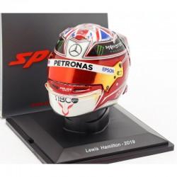 Mini casque 1/5 Lewis Hamilton 2019