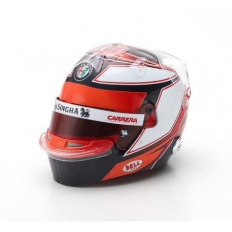 2019 Kimi Räikkönen 1/5 scale mini helmet