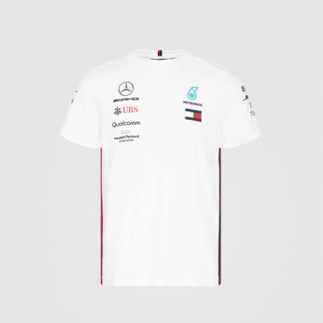 Mercedes AMG F1 Mens Driver Tee, white