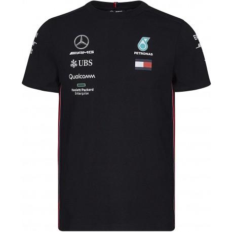 T-Shirt Mercedes AMG F1 noir