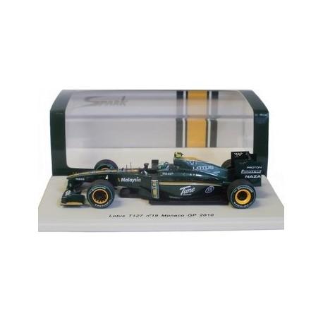 LOTUS T127  Heikki Kovalainen Monaco GP 2010