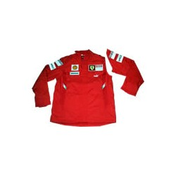 2008 FERRARI quilted Jacket with removable sleeves