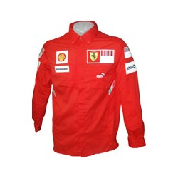 2008 FERRARI Team-Shirt with long sleeves