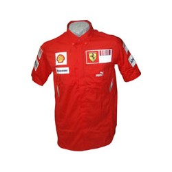 2008 FERRARI Team-Shirt with short sleeves