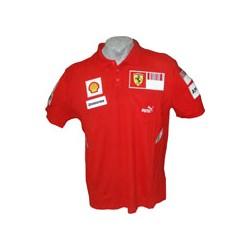2008 FERRARI Team Polo shirt