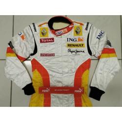 2009 Nelson PIQUET Jr. / Renault F1 suit