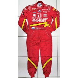 1998 Jimmy VASSER / Chip Ganassi race used suit.