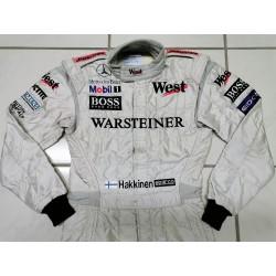 1999 Mika HÄKKINEN / West McLaren suit