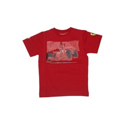 "T-Shirt Ferrari enfants ""Race Track"""