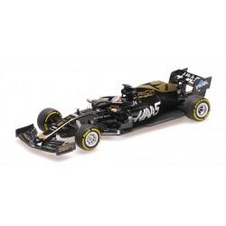 Haas F1 VF-19 R.Grosjean + K.Magnussen