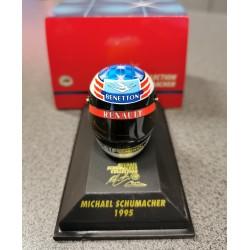 Casque Michael Schumacher 1995 échelle 1/8
