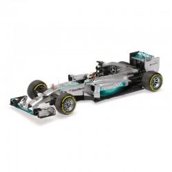 Mercedes AMG F1 W05 Lewis Hamilton vainqueur du GP d'Abou Dhabi 2014