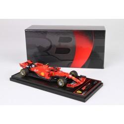 Ferrari SF90 C.Leclerc, vainqueur GP de Spa Francorchamps 2019