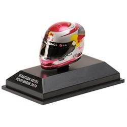 Casque Sebastian Vettel  échelle 1/8 GP de Hockenheim 2010