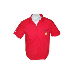 "Men's FERRARI Shirt ""Ventilation"" Scudetto"