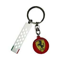 Metallic Keyring Scudetto