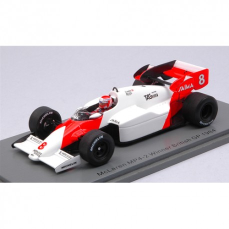 McLaren MP4-2 Niki LAUDA winner 1984 British GP