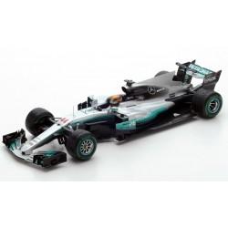 Mercedes F1 W08 Lewis Hamilton World Champion 2017 Mexico GP