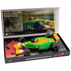 Benetton Ford B192 M.Schumacher vainqueur du GP de Belgique 1992