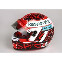 Mini casque échelle 1/2 Charles Leclerc / Ferrari 2020