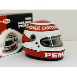 Mini casque échelle 1/2 Nelson PIQUET 1981