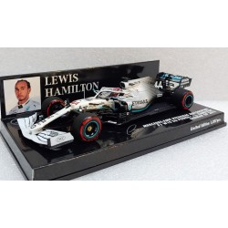 Mercedes F1 W10 Lewis Hamilton 2019 German GP